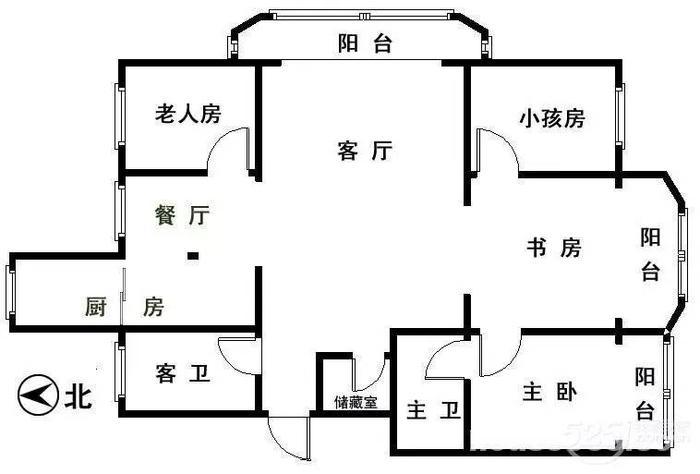 房屋平面圖
